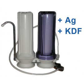 Csapra szerelhető víztisztító AG-KDF -2H