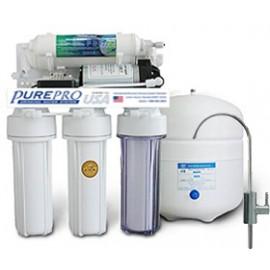 PurePro RO105P víztisztító szűrőrendszer nyomásnövelővel